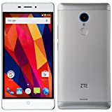 ZTE SIMフリースマートフォン ZTE Blade V580(シルバー) BLADE V580 SILVER