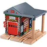 Fisher-Price Thomas Wooden Railway Sodor Fire Station