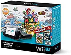 Wii U Deluxe Bundle - Super Mario 3D World & Nintendo Land Edition