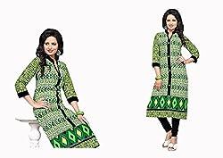 RR Fashion Women's Cotton KURTI (RRF3024_MULTICOLOUR)