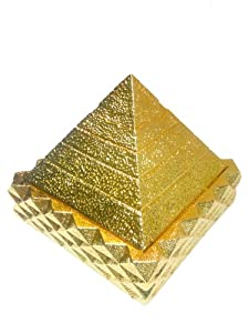 Pyramid Energy for Healing Pyramid Energy Stone Health Pyramid Healing Stone Therapy Pyramid Energy Stone Pendants Pyramid Healing Stones Pyramid Healing Pyramid Healing Energy the 24k Gold Premier 9 Pyramid Deep Sea Energy Stone.enchance the Positive Cosmic Energy, Helps to Develop Human Intelligence, Help Boots Self Confidence, Produces Efficent Amount of Lively Energy, Promotes Blood Circulation, Rejuvenation and Longevity. Constant Emission of Natural Negative Ions Cleanse the Body and Environment Hence Removes Pollution. Stimulates Antioxidant Process and Attracts Energetic Spirit.