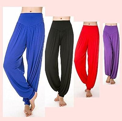 Hanxue Womens Yoga Pants Comfortable Herem Pants Belly Dance Fitness Workout Pants