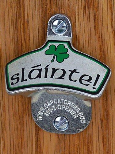 Slainte Irish Toast Wall Mount Bottle Opener (Bottle Opener Slainte compare prices)