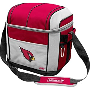 NFL Arizona Cardinals 24 Can Soft Sided Carry Coleman Cooler by Licensed Products