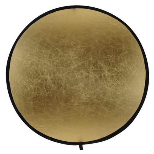 Bowens 107cm Gold/Silver Collapsable Reflector Disc