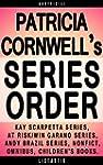 Patricia Cornwell Series Reading Orde...