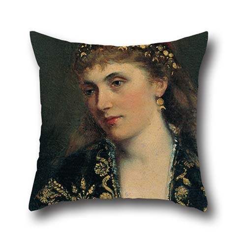 20 X 20 Inches / 50 By 50 Cm Oil Painting Bertha Von Bayer - Portrait Of A Woman Pillow Cases ,twice Sides Ornament And Gift To Festival,outdoor,office,drawing Room,chair,bar (Marvel Magic Mystery Oil compare prices)