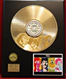 When I'm 64 Limited Edition Laser Etched Gold LP Record Display