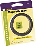 "ProMag Adhesive Magnetic Tape Roll-1/2""X30"""