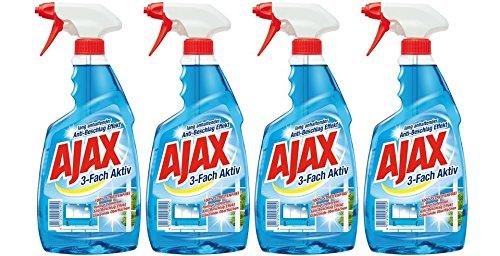 ajax-glasreiniger-mit-spruhpistole-4er-pack-4-x-500-ml