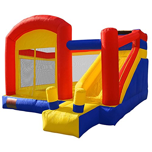 Cloud 9 Super Slide Bounce House - Inflatable Bouncing Jumper Combo - Sliding Jump and Climb