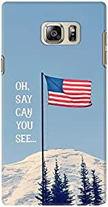 DailyObjects Oh Say Can You See Case For Samsung Galaxy Note 5