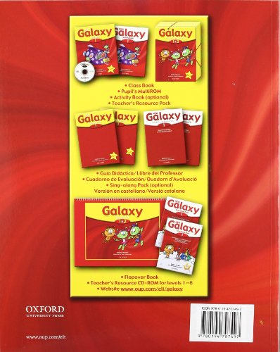 Galaxy 1: Class Book Pack New Edition