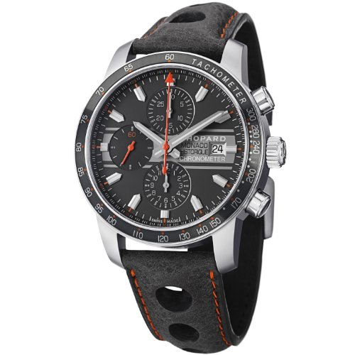 Chopard Grand Prix de Monaco Chronograph Automatic Titanium Mens Watch 168992-3032