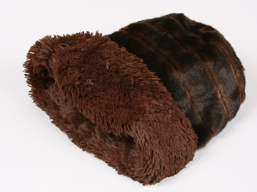 Shag Cuddle Cup Bed for Dogs by Susan Lanci -