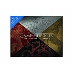 Game of Thrones: The Complete First Season (Blu-ray/DVD Combo + Digital Copy)  (Collector's Edition)