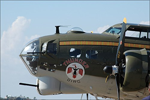 24x36 Poster; Boeing B-17 Flying Fortress Nose Detail