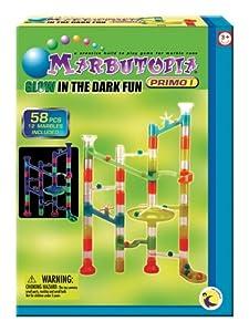 Marbultopia Glow In The Dark Marble Run  58 Piece