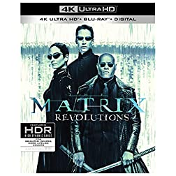 The Matrix Revolutions [4K Ultra HD + Blu-ray]