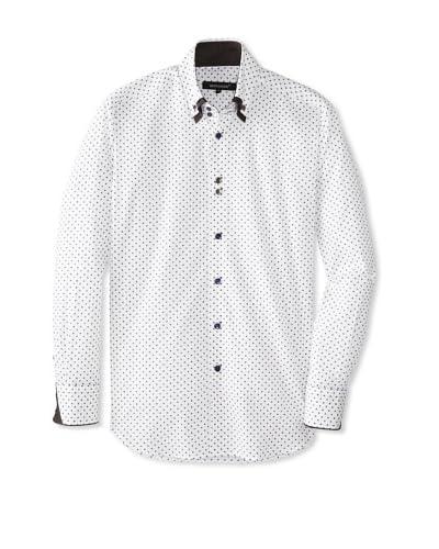 Bogosse Men's Yunus 81 Jacquard Long Sleeve Shirt