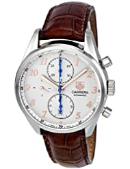 Tag Heuer Men's CAS2112.FC6291 Carrera Heritage Silver Dial Dress Watch