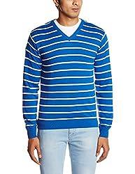 People Men's Cotton Sweater (8903880689803_P10101188000314_X-Large_Blue)
