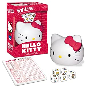 Hello Kitty Yahtzee!