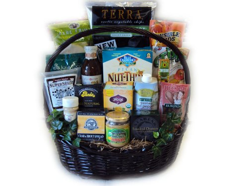 Super Deluxe Get Well Healthy Gift Basket