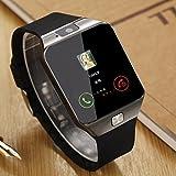 #6: Mi Redmi Note 4G Compatible Certified Bluetooth DZ09 Smart Watch Wrist Watch Phone with Camera & SIM Card Support