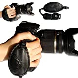 OSH0201 first2savvv new leather digital camera SLR hand strap grip for Canon EOS 7D