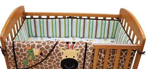 Jungle Crib Bedding 172892 back