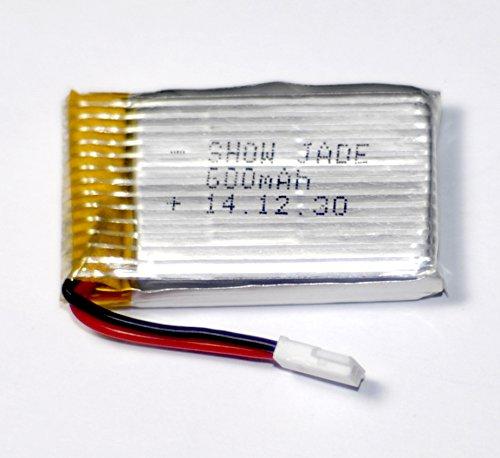 Upgraded Syma X5C X5 3.7V 600mAh 25C Lipo Battery