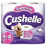 Cushelle Supersize Rolls White 4x4 per pack