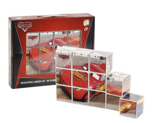 Imagen principal de Cefa 88227 - Rompecabezas Cars 12 Cubos