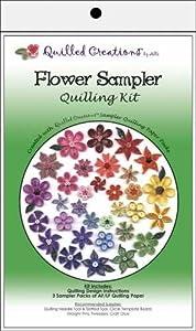 Flower Sampler Quilling Kit
