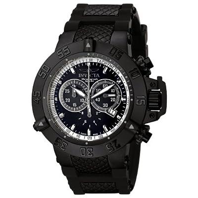 Invicta Men's 5508 Subaqua Sport Black Ion-Plated Chronograph Watch from Invicta