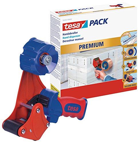 tesa-Packband-Handabroller-Profi-Modell-fr-Rollen-bis-66m-x-50mm