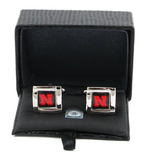 Nebraska Cornhuskers - NCAA Team Logo Cufflinks