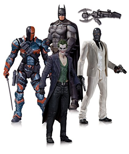 DC Collectibles Batman: Arkham Origins: Action Figure 4-Pack at Gotham City Store