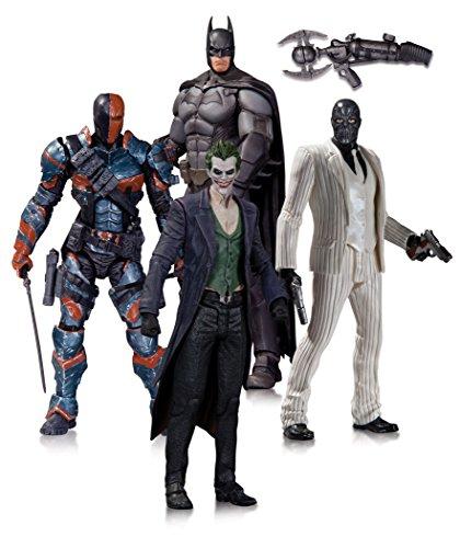 DC Comics Batman Arkham Origins Action Figura 4 Pezzi