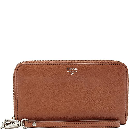 08. Fossil Sydney Zip Phone Wallet