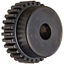 Martin Spur Gear, 14.5° Pressure Angle, High Carbon Steel, Inch, 16 Pitch