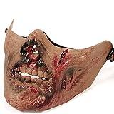 ホラーテイストゾンビのマスク