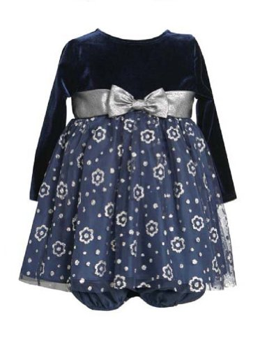 Girls Velvet Holiday Dresses