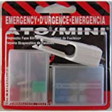 Littelfuse 94479 ATO/MINI Blade Fuse Emergency Diagnostic Kit