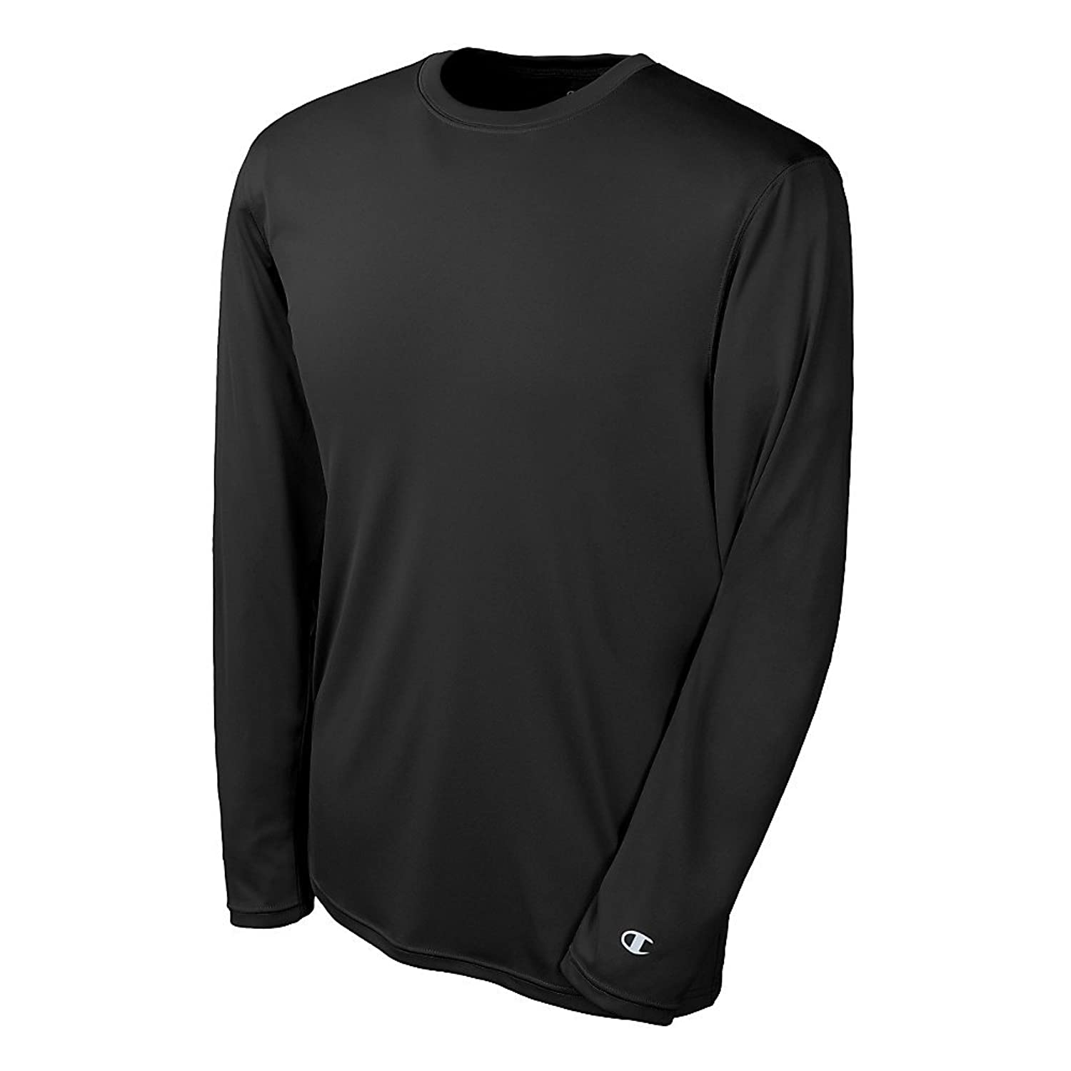 Champion Double Dry Long Sleeve Tee CW26 XL, Black