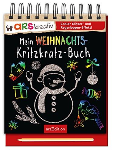 Mein Weihnachts- Kritzkratz-Buch das Buch von  - Preis vergleichen und online kaufen