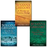 Susanna Gregory Susanna Gregory Exploits of Thomas Chaloner Series Collection 3 Books Set, (A Murder On London Bridge, The Westminster Poisoner & The Body In The Thames)
