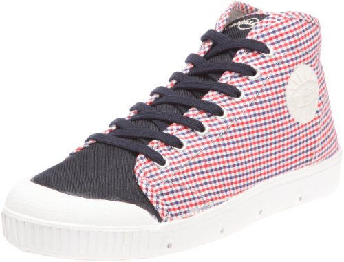 Springcourt - Sneaker Q B Lj Vi04 01_Blanc (White-Navy-Red) Uomo, Bianco (Blanc (White-Navy-Red/Navy Fox White)), 44