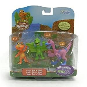 Dinosaur Train Collectible 3-Pack Velma, Annie and Don
